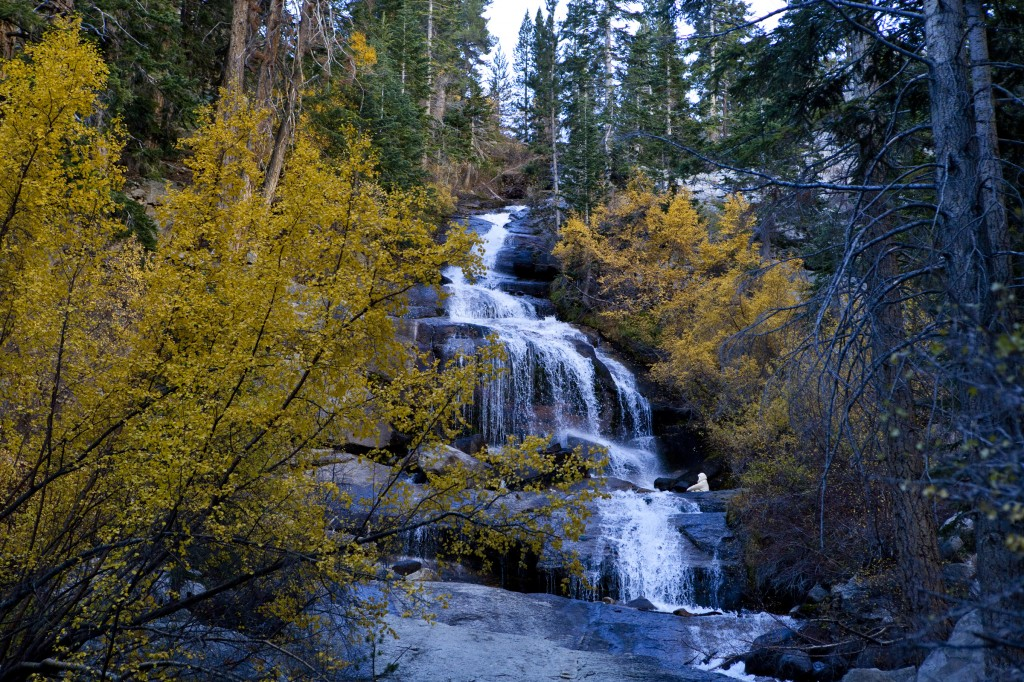 Nature Photo - The Falls of Lone Pine Creek at the Whitney Portal, California