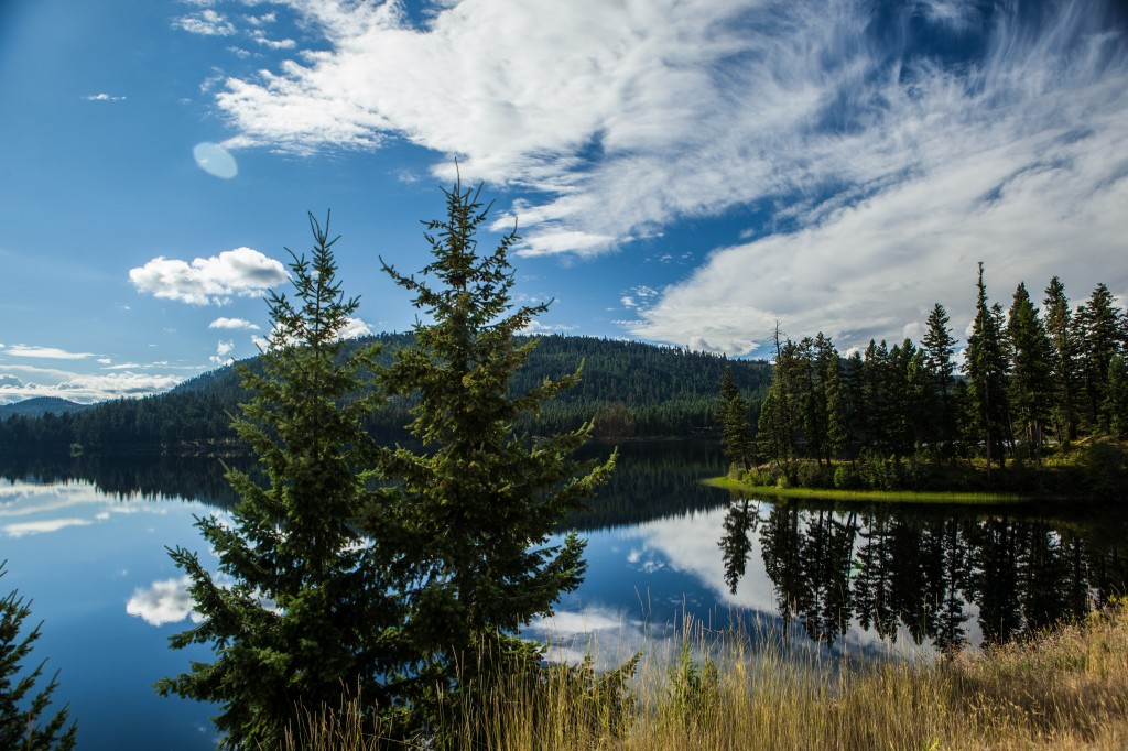 Montana Lake Nature Photo